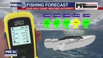 Fishing forecast Saturday August 8