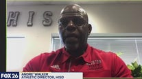 HISD AD, Andre Walker, Joins the KRIV Morning Show.