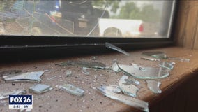 Vandals strike at Needville church, church members left to clean up