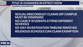 Title IX changes