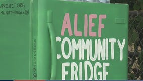 Alief Community Fridge supporting those having a tough time