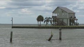 Parts of Chambers County under a mandatory evacuation