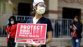 Over 200 protests held nationwide as nurses demand better protection amid the COVID-19 pandemic
