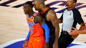 Tucker, Schroder ejected from Rockets-Thunder playoff game