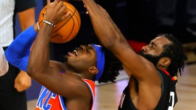 Harden scores 31 points, Rockets beat Thunder for 3-2 lead