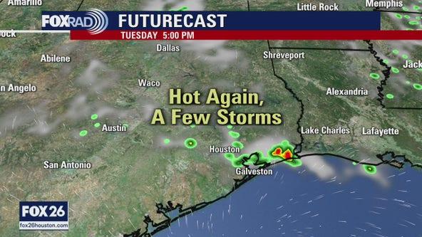 Feels like August in Houston!