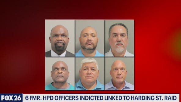 Six former HPD officers facing felony indictments- What's Your Point?