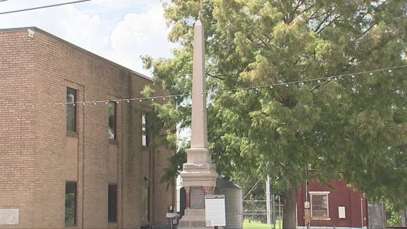 Richmond resident trying to take ownership of abandoned monument