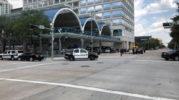 Suspected killed in downtown Houston officer-involved shooting