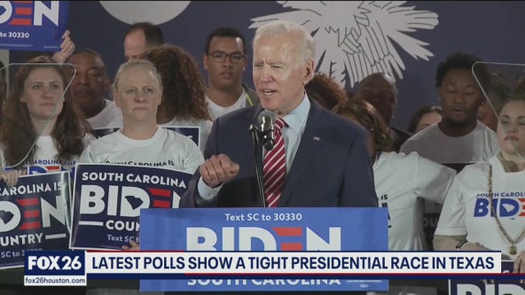 Former Vice President Biden leads in several polls, can he win Texas - What's Your Point?