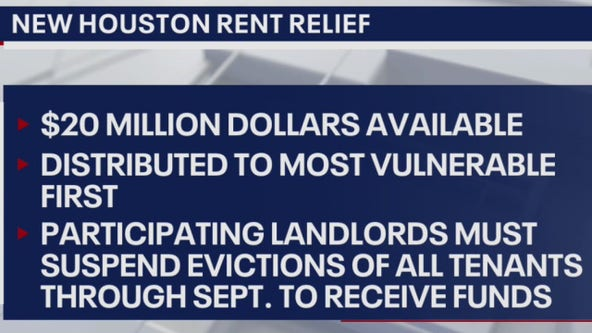 Houston's new rent relief plan hopes to stall mass evictions - What's Your Point?