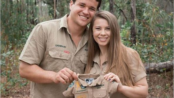 Bindi Irwin and husband Chandler Powell are expecting their first child: 'Baby Wildlife Warrior due 2021'