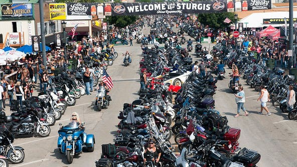 Harleys everywhere, masks nowhere: Sturgis draws thousands