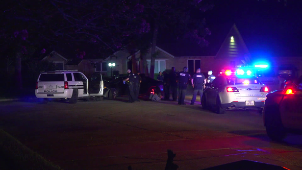 Four people detained following pursuit in Northwest Harris County