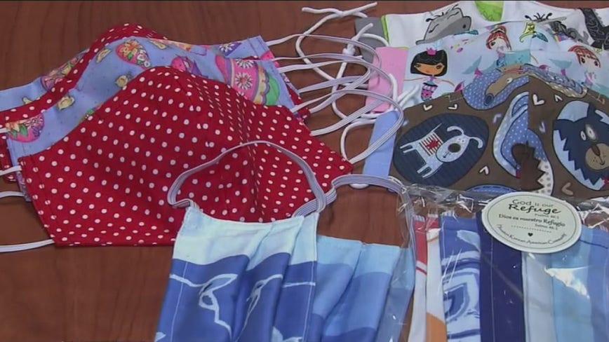 HoustonKorean American community donates children's face masks