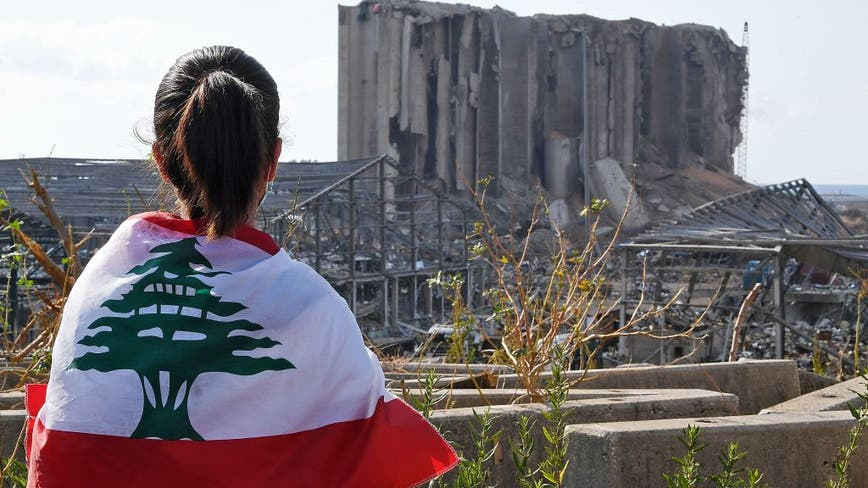 Beirut pauses to remember the dead a week after explosion