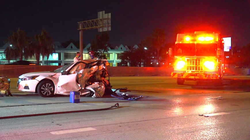 Driver killed, three others injured in overnight crash in Houston