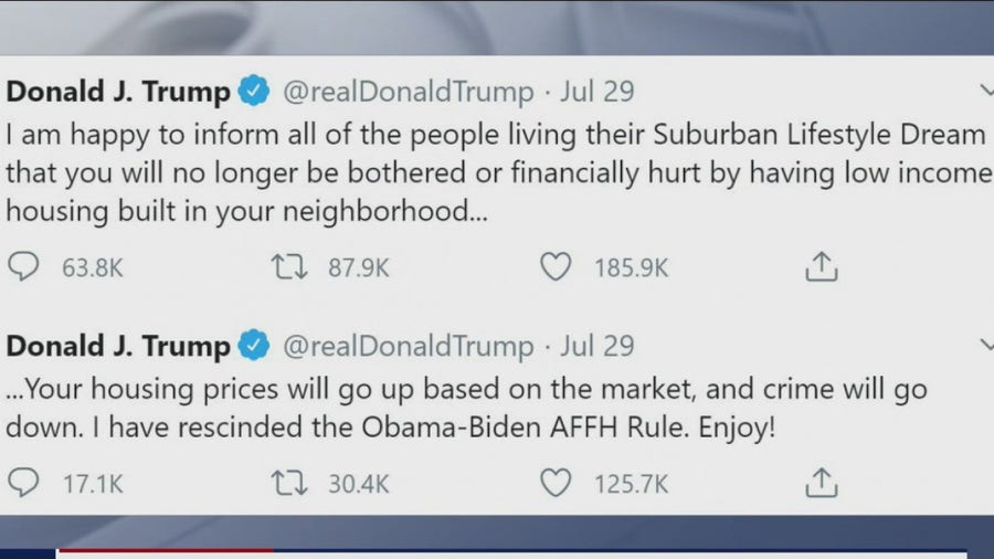 Mail-in voting and protecting the suburbs, President Trump's tweets spark conversation- What's Your Point?