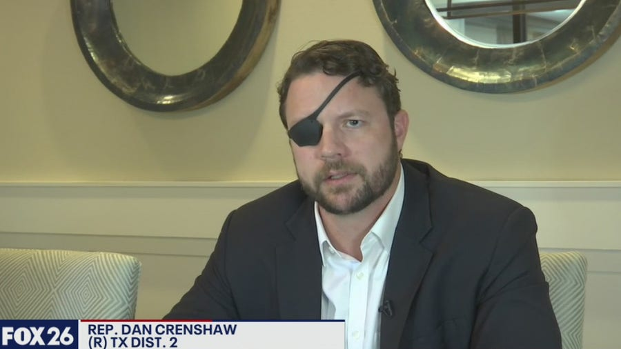 One on one with Congressman Dan Crenshaw - What's Your Point