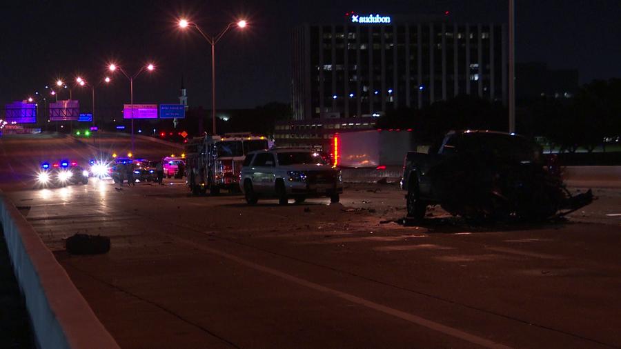 Woman dies in head-on crash on Beltway 8