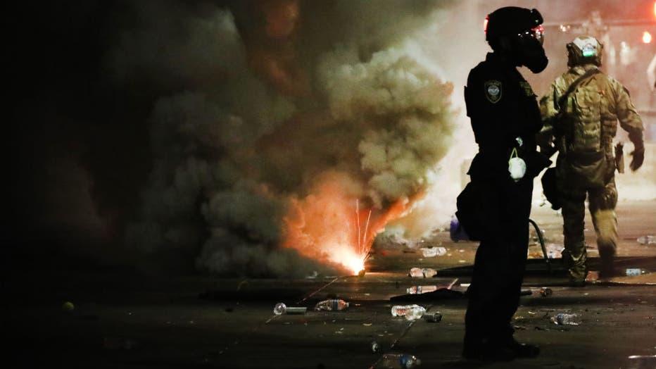 e68dd9a1-Portland Protests Continue Unabated Despite Federal Law Enforcement Presence