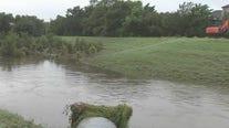 Floodwaters receding across Houston area