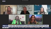 Your Take: Restaurants allowed to incrase capacity to 75 percent.
