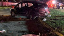 Woman dies in north Harris Co. crash; 4 kids, 1 man injured