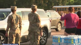 Water distributed to Lake Jackson residents during boil water notice