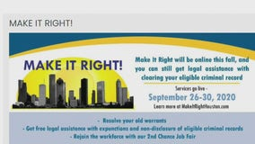 Make It Right program gives ex-offenders second chance at life