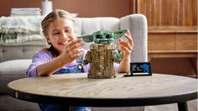 The Force is strong with Lego's new Baby Yoda construction set