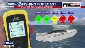 Fishing forecast for Sunday September 20