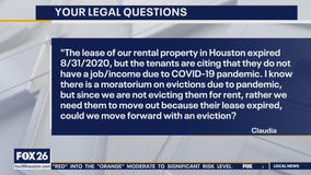Your Legal Questions: Cemetery plots; eviction for expired lease; name in a song