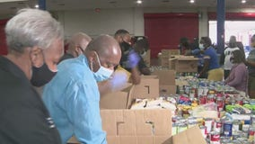 Houstonians spending Labor Day Weekend helping Hurricane Laura victims