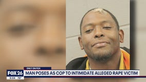 Man allegedly poses as peace officer to intimidate rape victim