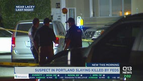 Suspect in Portland fatal shooting has been killed in Washington