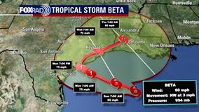 Voluntary evacuation issued for Galveston County, Bolivar Peninsula ahead of TS Beta