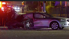 Chase suspect crashes into rideshare, killing two women in north Houston