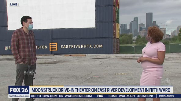 Moonstruck Drive-in theater in Fifth Ward