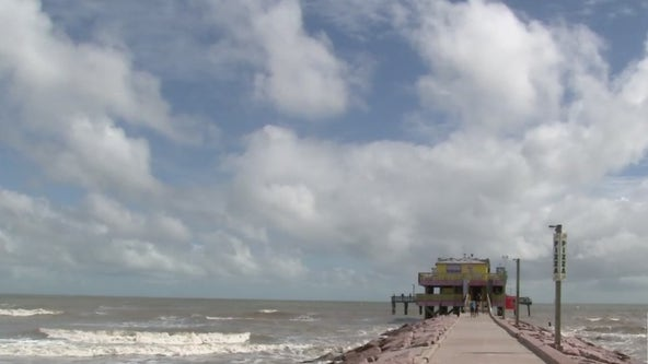 Galveston's 61st Street Fishing Pier re-opened Tuesday following TS Beta