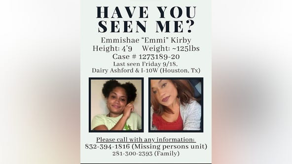 Houston Police Department searching for missing woman