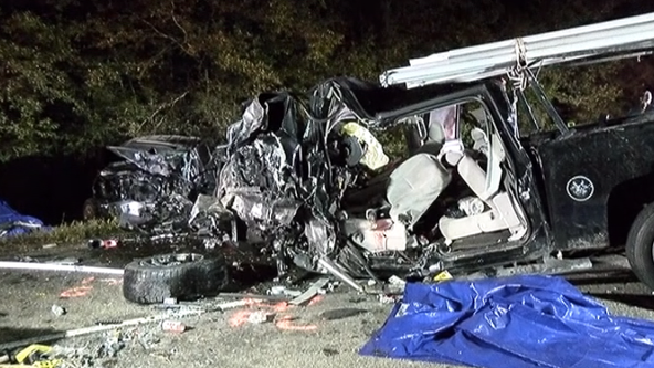 3 people dead after head-on collision on State Highway 105