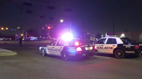 Officer involved crash sends 3 people to the hospital in Houston