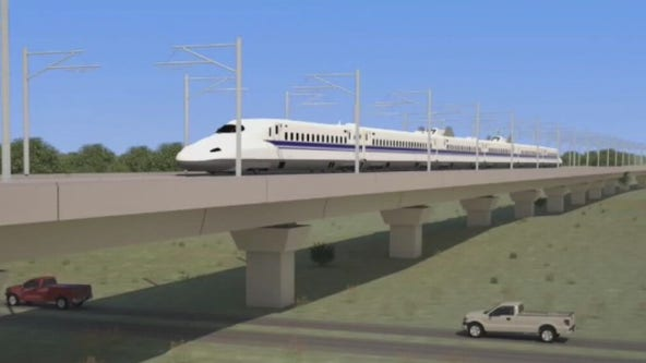 Texas bullet train group inks deal with Milan design firm
