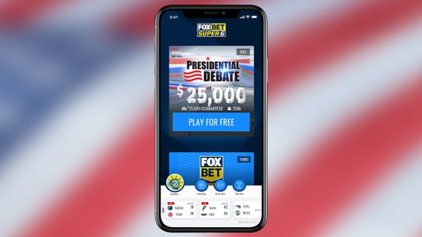 App gives Trump-Biden debate viewers chance to win cash