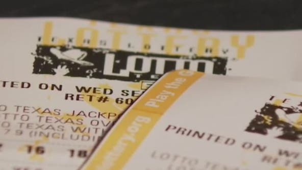 Lotto Texas jackpot grows to $45.5 million for Saturday's drawing