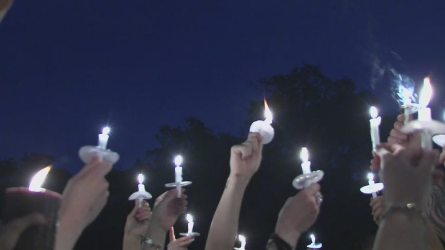 Vigil held for 20-year-old Harris County woman who was shot while sleeping