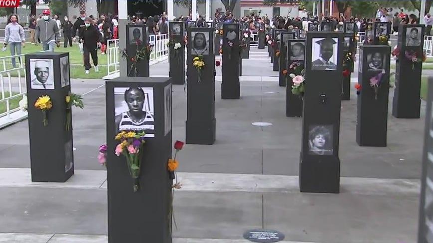 Say Their Names Memorial: Third Ward art exhibit honors Black Americans killed