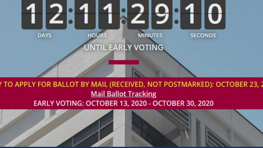 Harris County announces new way to track mail-in ballot's progress