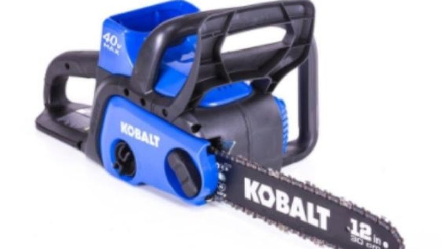 Recall Alert: 150,000 chainsaws sold at Lowes might not turn off